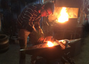 Skewers forging in Zurich
