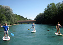 River Stand Up Paddling Aare
