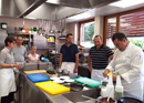 Team Cooking and Seminar